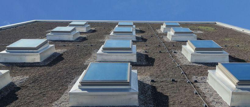 Fenêtre Pour Toit Plat Isba Ag Tageslichtsysteme Aus Der Schweiz